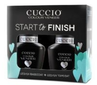 Cuccio Veneer UV/LED Polish Basecoat and Topcoat - Start to Finish (2 bottles) 13ml